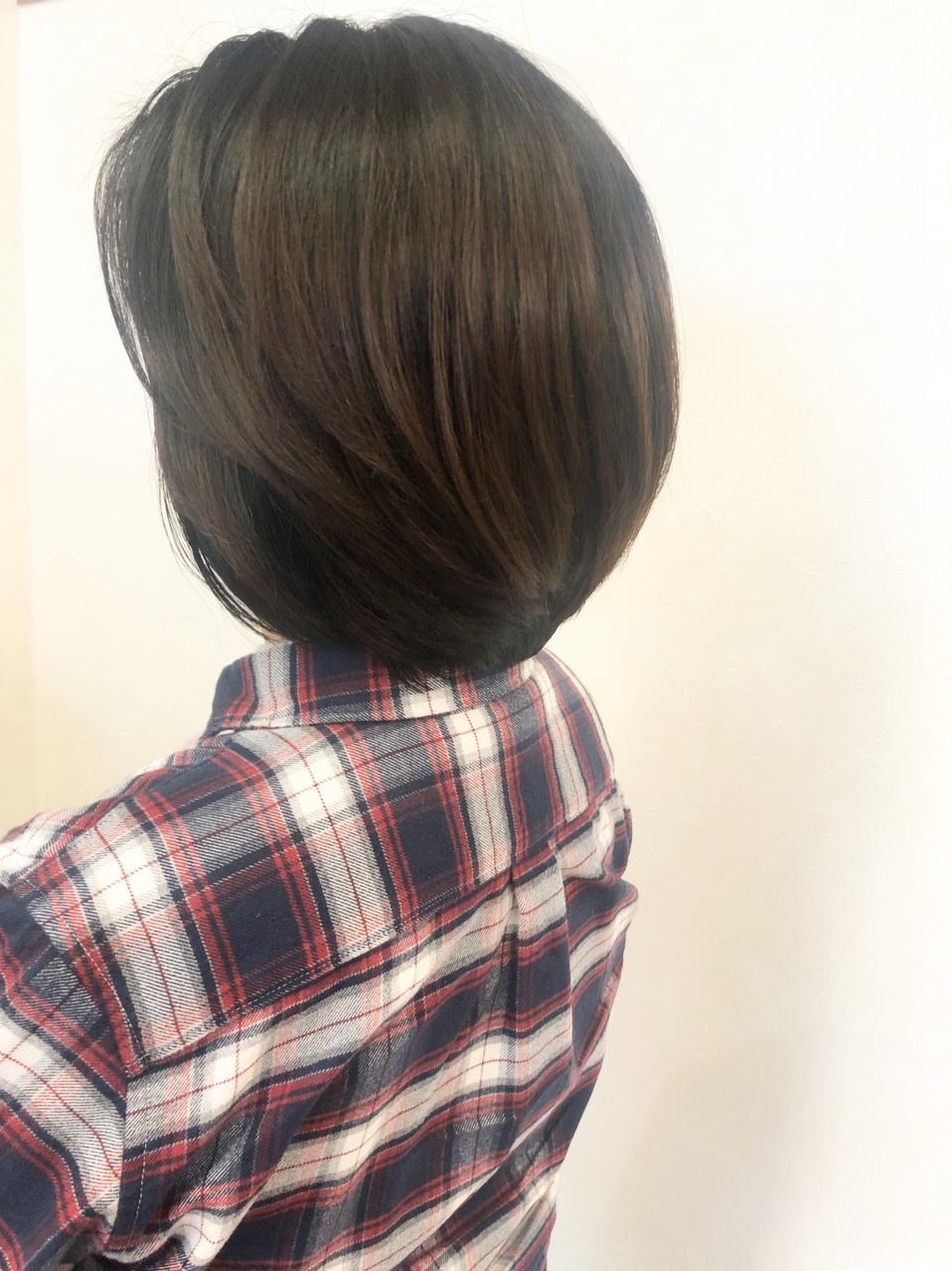 40代50代60代おすすめ☆ひし形ショートボブ